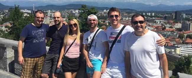 Poslednji vikend jula u Ljubljani